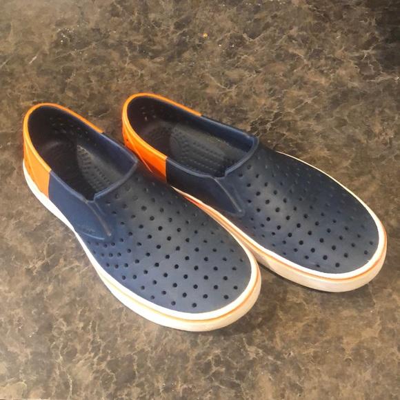 Native slip on sneakers
